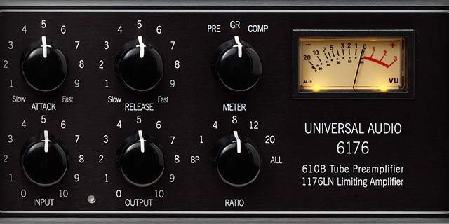 The 1176LN — A Compressor with Tone