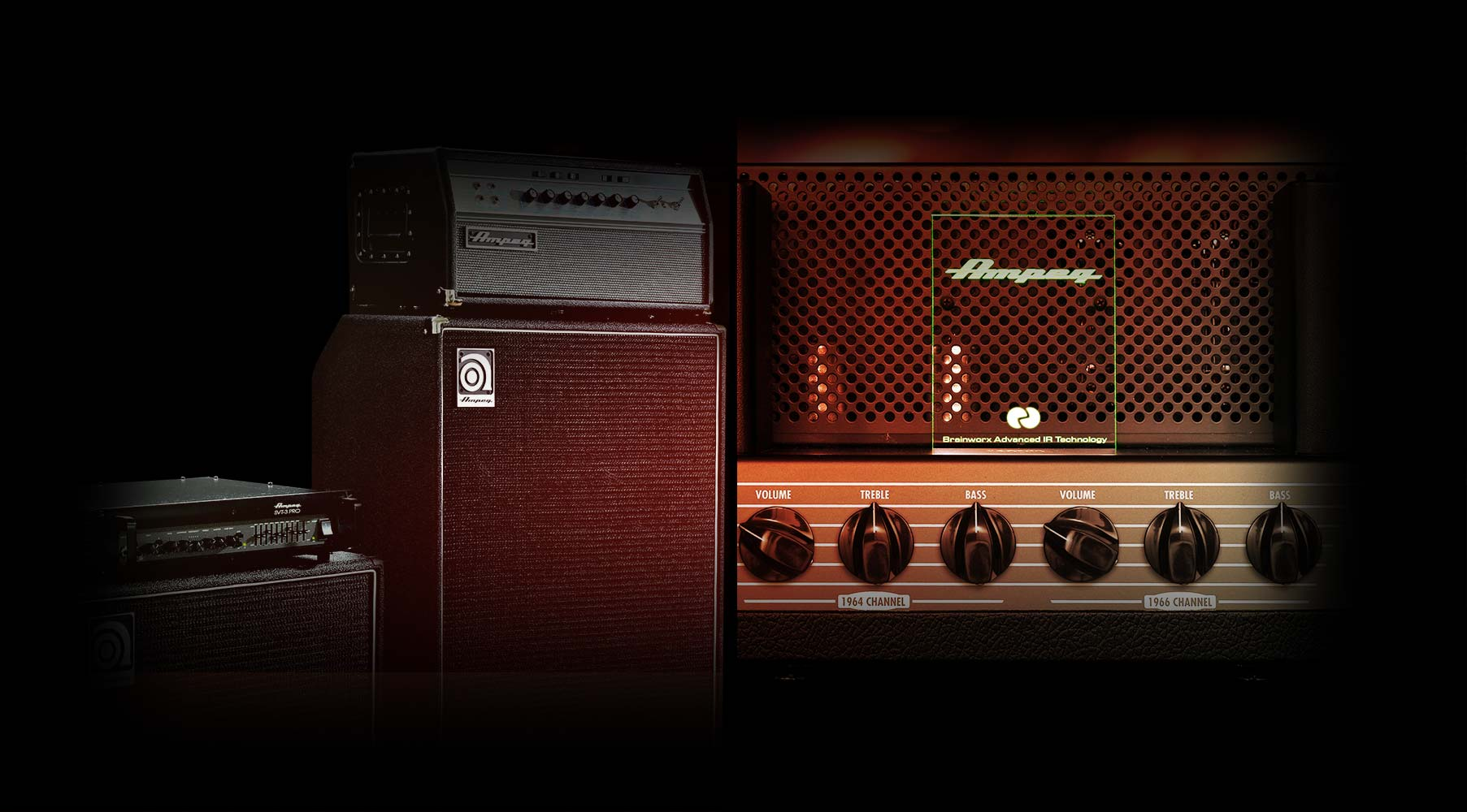 Ampeg® Heritage Bass Amp Bundle