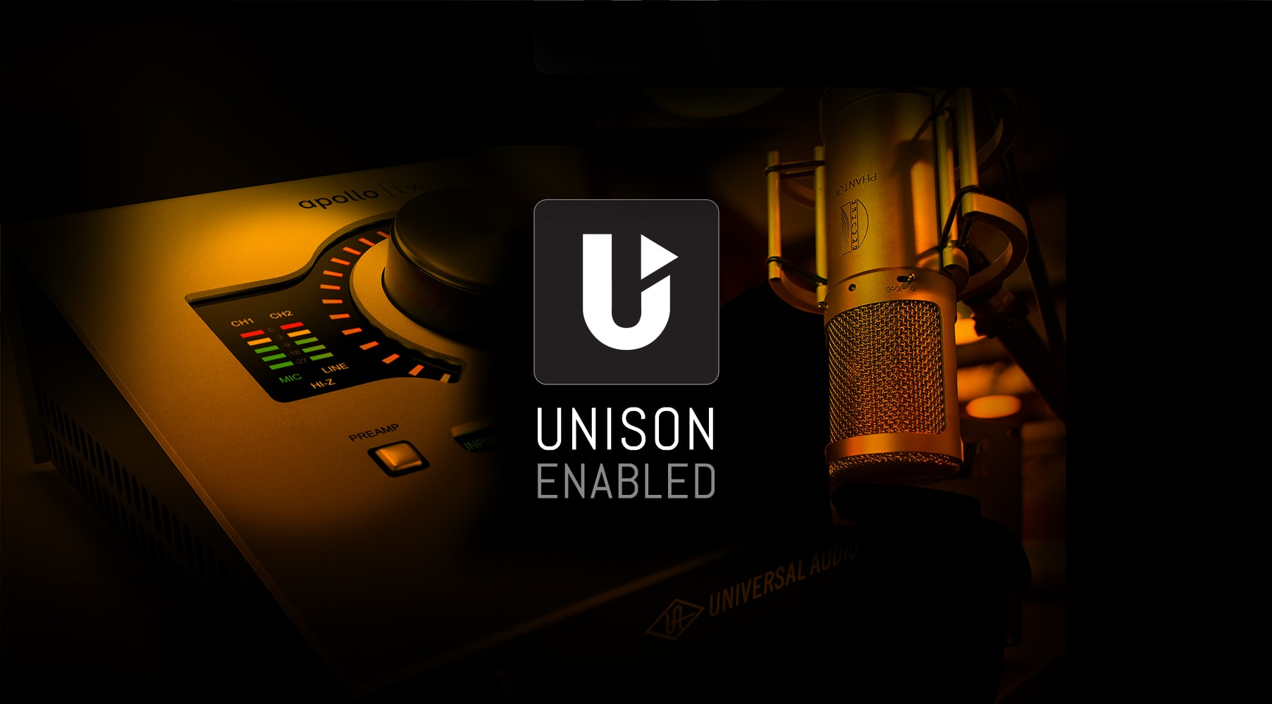Apollo Recording w/ Unison™-enabled UAD Powered Plug-Ins