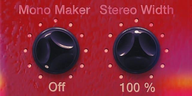 Full Stereo Spectrum Control