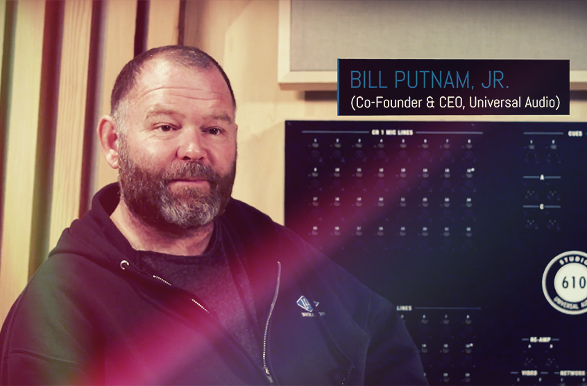 Bill Putnam, Jr. on the H910