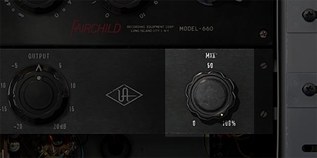 Blend Sounds with the Wet/DryMixControl