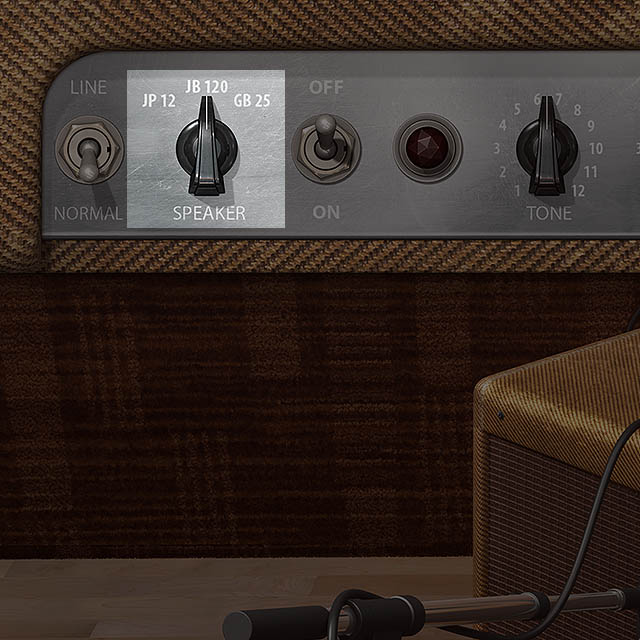 Toggle between speakers