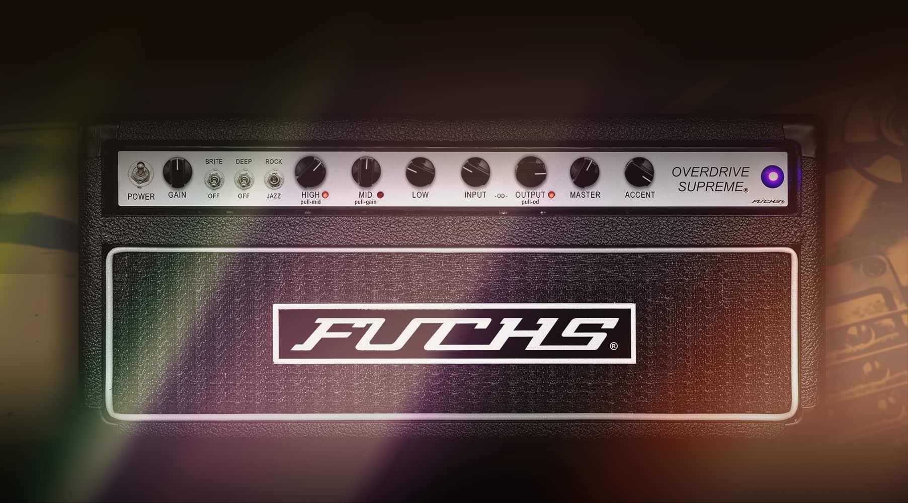 Fuchs® Overdrive Supreme50Amplifier