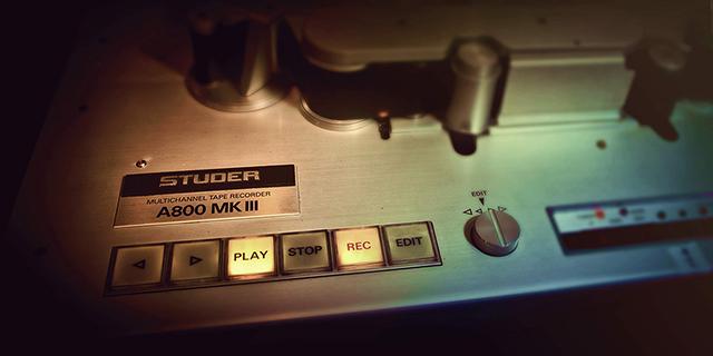 Studer A800 Multichannel<br>Tape Recorder