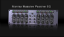 Manley Massive Passive EQ Demo