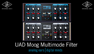 Moog Multimode Filter Demo