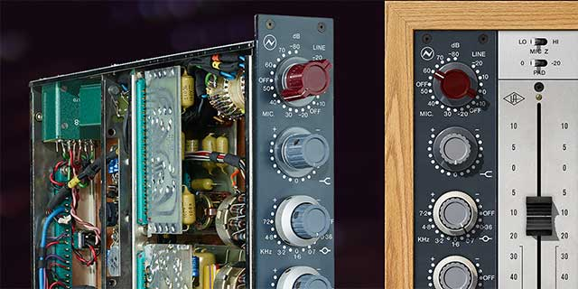 The Only End-to-End Neve 1073 CircuitEmulation
