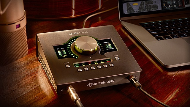 Born to Make Records: Meet the New Apollo Twin MkII.
