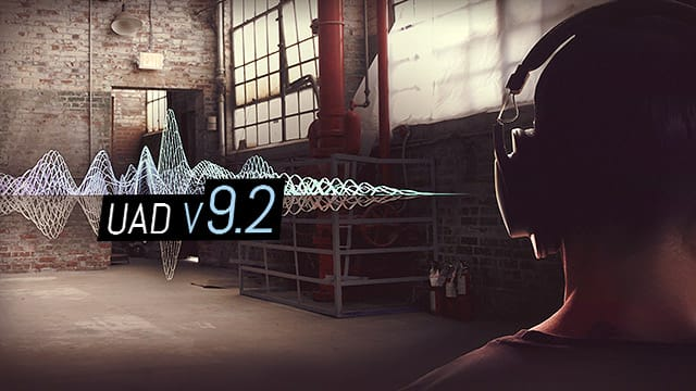 UAD v9.2 featuring Auto-Tune, SSL G Bus Comp & More.
