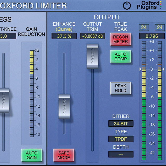 A World-Class Mastering Limiter