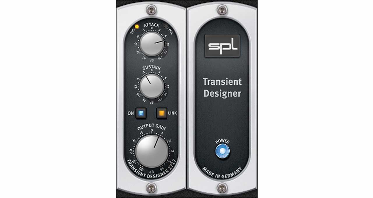 spl transient designer plug in universal audio. Black Bedroom Furniture Sets. Home Design Ideas