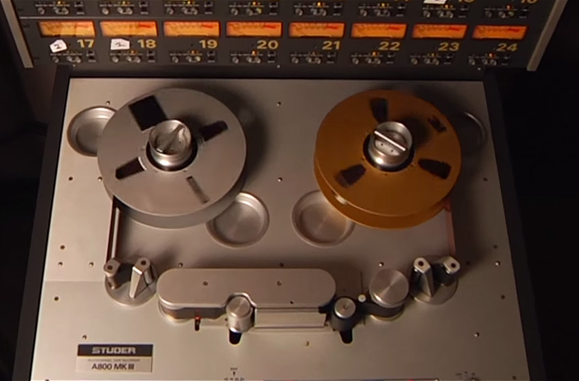 Studer A800 Multichannel Tape Recorder plug-in