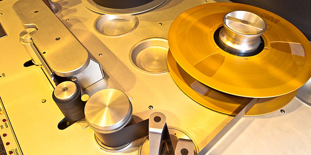 A Groundbreaking Tape Machine