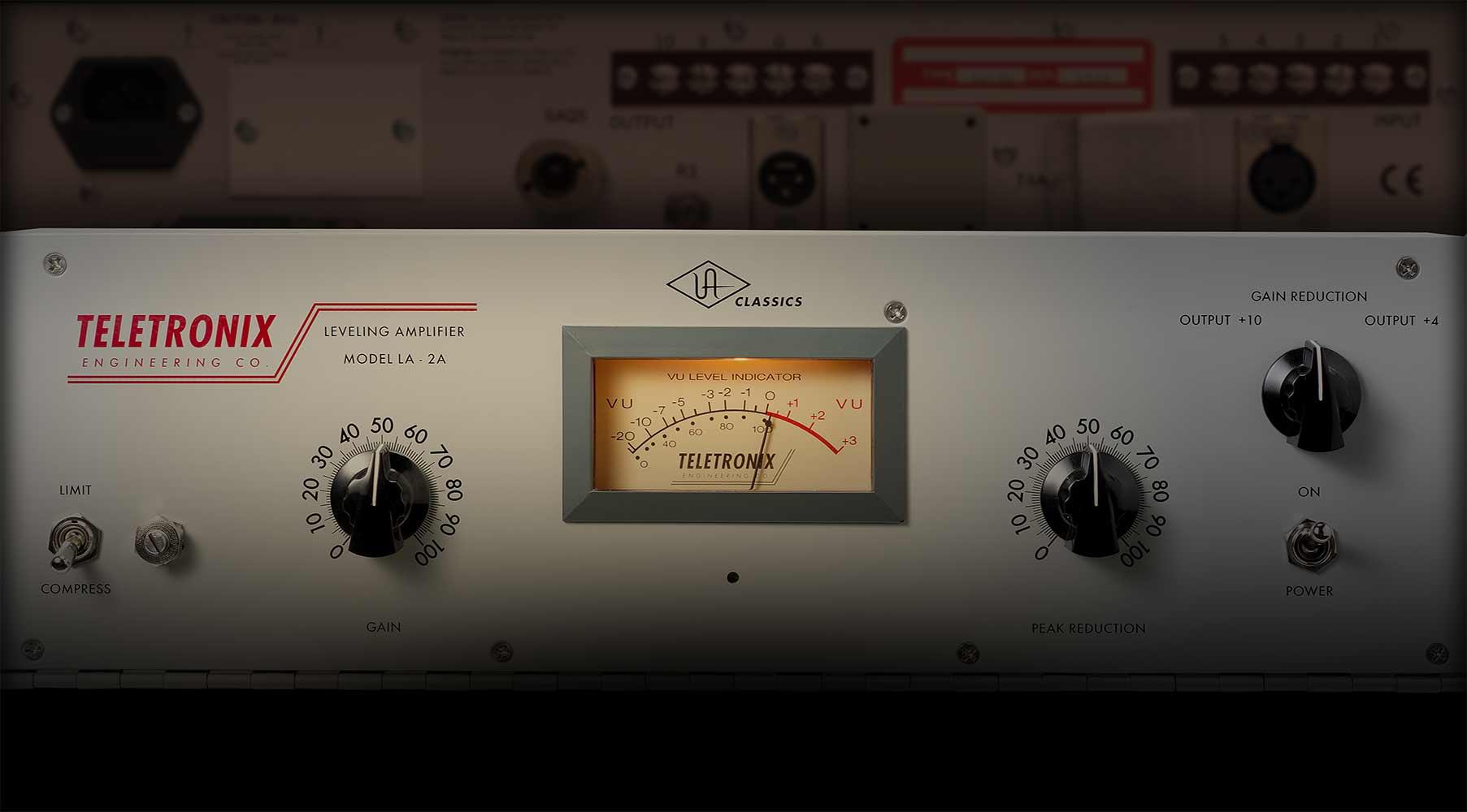 TELETRONIX® LA-2A Classic Leveling Amplifier