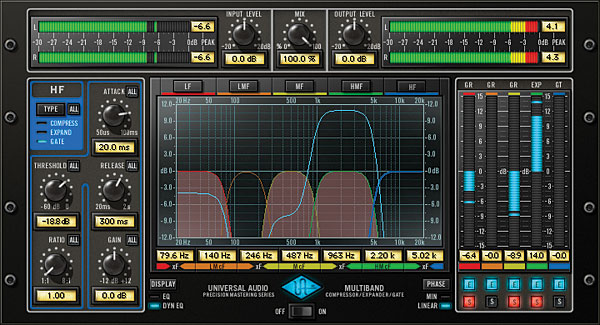 Precision Multiband Compressor