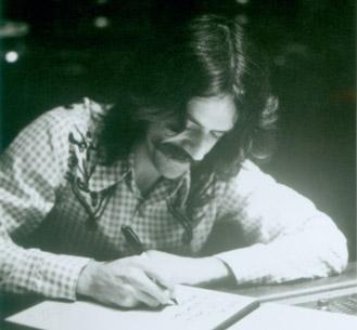 Joe Sidore writing