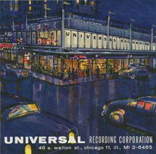 Universal Recording painting