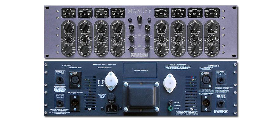 Manley Massive Passive EQ Hardware