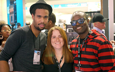 Josiah, Erica and JR @ NAMM