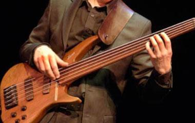 5 string fretless bass