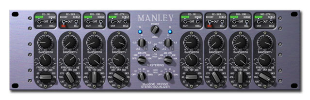 Manley Massive Passive EQ Powered Plug-In, Mastering version