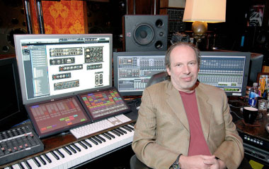 Hans Zimmer at one of his several UAD-equipped workstations