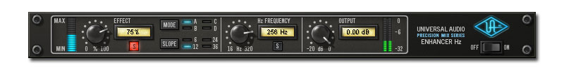 Precision Enhancer Hz UAD-2 Powered Plug-In
