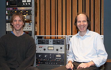 Dr. Dave Berners and Jonathan Abel