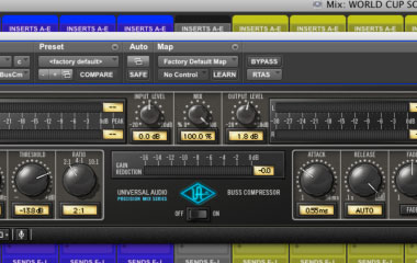 Buss Compressor Screenshot