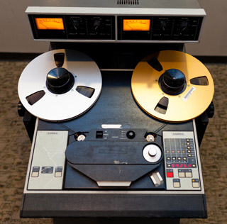 The Ampex ATR-102 was considered the ultimate tape machine for final mastering.
