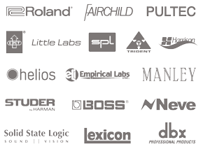 UAD-2 Plug-In Partner Logos