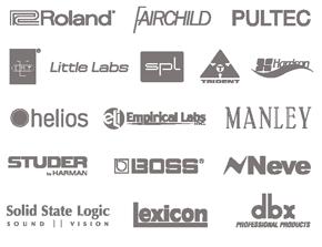 UAD-2 Plug-In Partner Logos