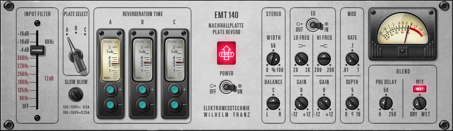 UAD EMT 140 Plate Reverb Plug-In