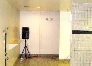 UA Bathroom Echo Chamber