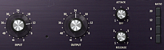 This effect can be particularly useful on direct-recorded guitar tracks, or anything that might benefit from the unique character and distortion of the 1176's input and output amplifiers.