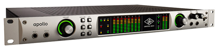 Universal Audio's Apollo Audio Interface was the first pro audio peripheral to offer Thunderbolt connectivity to the audio interface market.