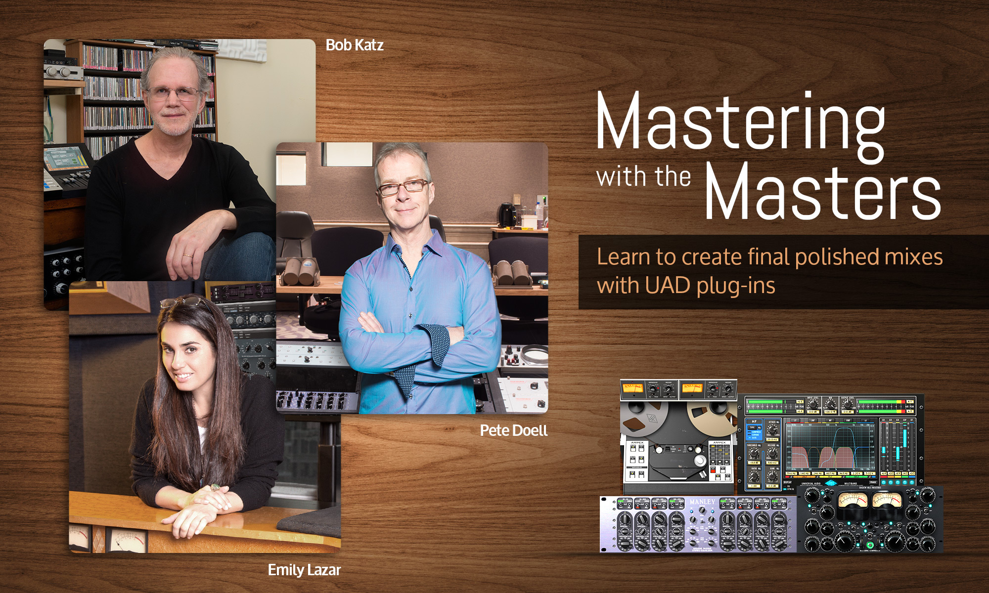 Mastering with the masters.