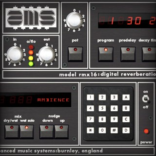 AMS RMX16 Digital Reverb