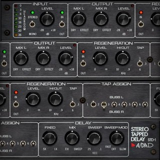 A/DA STD-1 Stereo Tapped Delay