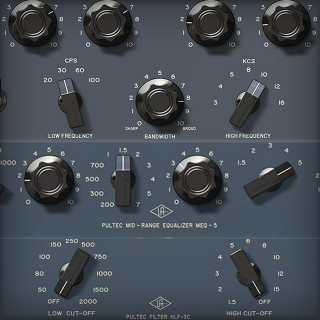 Pultec Passive EQ Collection