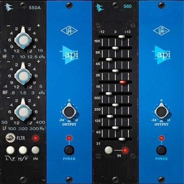 API® 500 Series EQ Collection