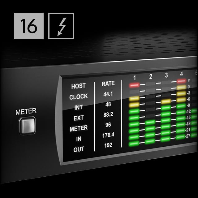 apollo 16 thunderbolt audio interface universal audio. Black Bedroom Furniture Sets. Home Design Ideas