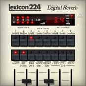 Lexicon® 224 Digital Reverb プラグイン