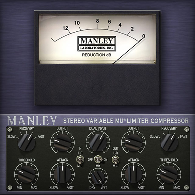 Manley Variable Mu Limiter Compressor
