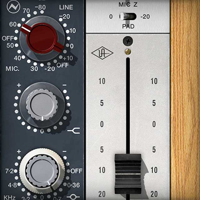 Neve 1073 Preamp and EQ Collection