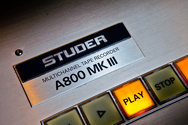 Studer A800 Hardware Transport Controls