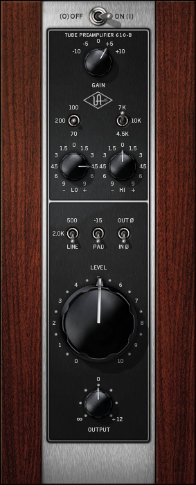 UA 610-B Tube Preamp and EQ