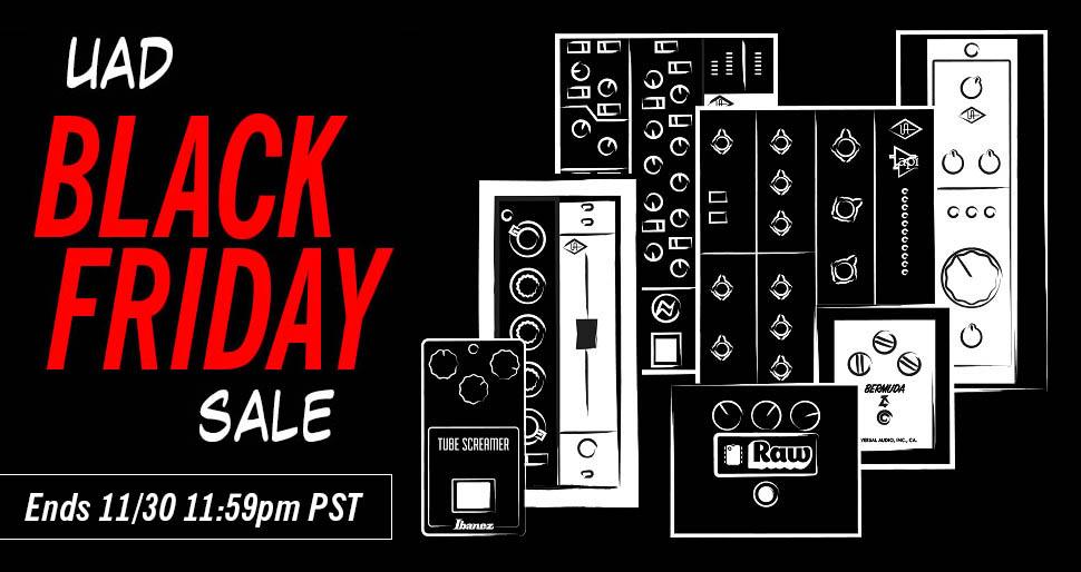 UAD Black Friday Sale