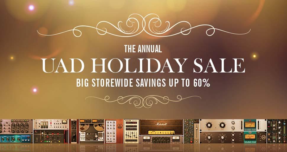 UAD Holiday Sale